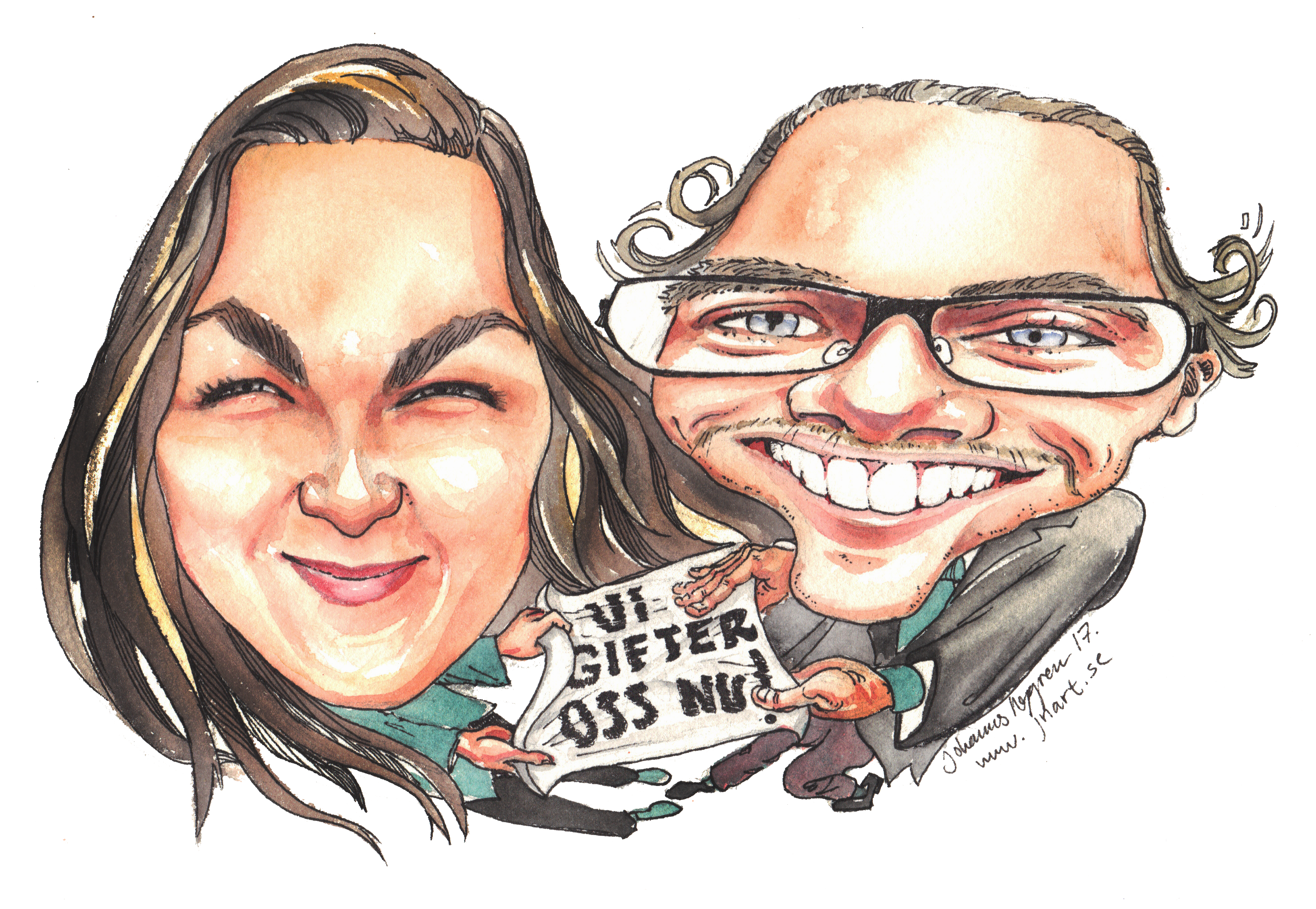 Caricature Engagement