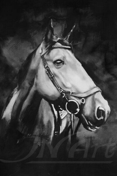 Häst i bläck